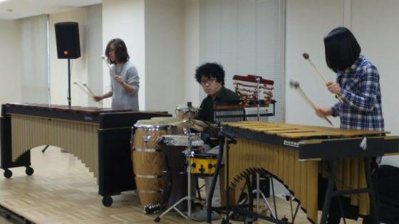 【写真】打楽器アンサンブルツクパク