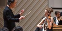 【写真】マエストロとのアイコンタクトを交わすクララ・ジュミ・カン