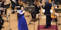 【写真】小協奏曲で素晴らしい音色を響かせてくださった高木さん。