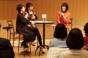 【写真】左から飯田有抄さん、大木麻理さん、松居直美さん