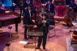 【写真】東京交響楽団首席トランペットの佐藤さんもソロを吹きました。