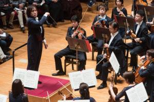 【写真】この日のコンサートマスターは水谷晃さんでした。