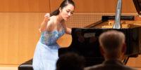 【写真】ピアノ1台から様々な音色が響きました。