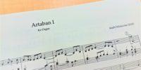【写真】アルタバンIの楽譜の一部。