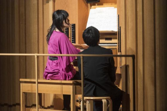 【写真】梅干野安未さん。