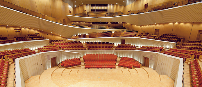 ミューザ川崎シンフォニーホール音楽ホール